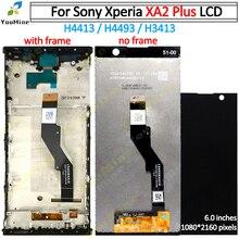 Dành Cho Sony XA2 Plus H4413 H4493 H3413 Màn Hình Hiển Thị LCD Với Bộ Số Hóa Cảm Ứng Linh Kiện Thay Thế Cho Sony XA2 Plus màn Hình LCD