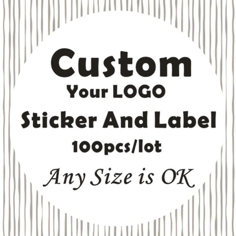 Custom Logo Stickers And Customisable Labels/Wedding sticker 3-7cm Design Own Business baking gift stickers