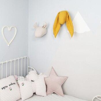 Nordic Rabbit Head Pillow - Pendant