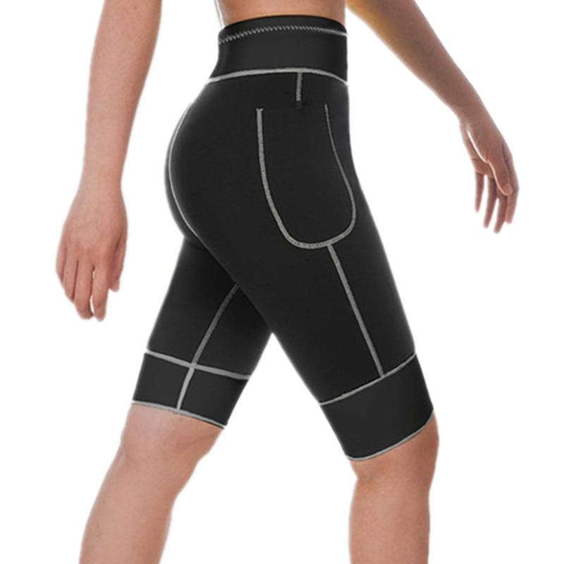 Womens Body Shaper Slimming Tummy Control Sauna Shorts Pants Neoprene Shorts NEW
