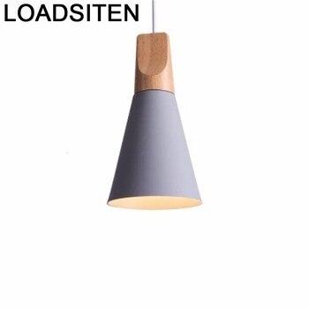 ติดตั้งบ้านผู้หญิงอุตสาหกรรมจี้ไฟบ้าน Deco ห้องครัวหลอดโมเดิร์น De Techo Moderna Lampara Colgante แขวนโคมไฟ