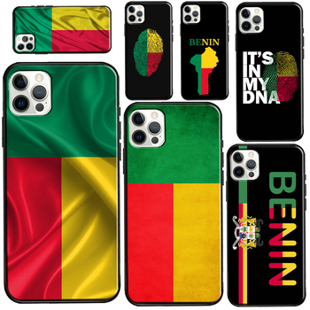 Benin Flag For iPhone 12 mini 11 Pro Max Case For iPhone 7 8 Plus 6S X XR XS Max SE 2020 Coque image