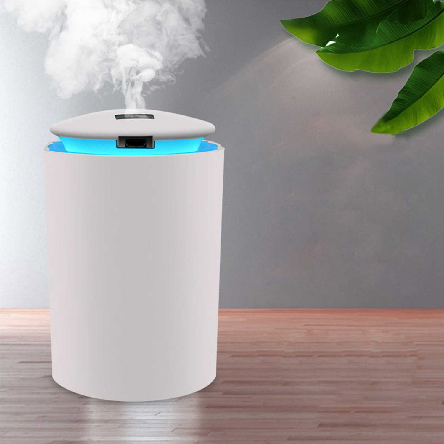 260ml Mist Air Humidifier Diffuser With Led Light Quiet Car Humidifier Essential Oil Diffuser For Bedroom Usb Aroma Diffuser Humidifiers Aliexpress