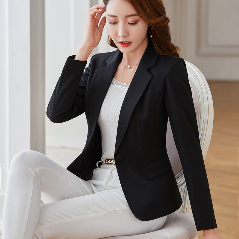 MLCRIYG Spring Blazer Women Blazers And Jackets Long Sleeve Candy Color Office Lady Suit Slim Blazer Plus Size 5XL YQ327