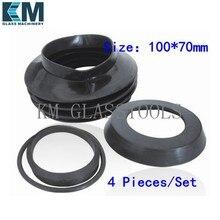 Высокое качество! 130 мм * 70 мм и 100 мм * 70 мм водонепроницаемое покрытие машины для окантовки стекла.