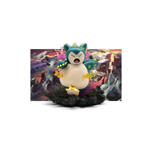 TAKARA TOMY Toy for Children Pokemon Monster 16.5cm Snorlax Collectible Action Figure Pocket Monsters Dolls