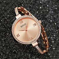 2019 New Fashion Quartz Ladies Watch Luxury Stainless Steel Women Bracelet Watch Waterproof Brand Women Watch Relogio Feminino