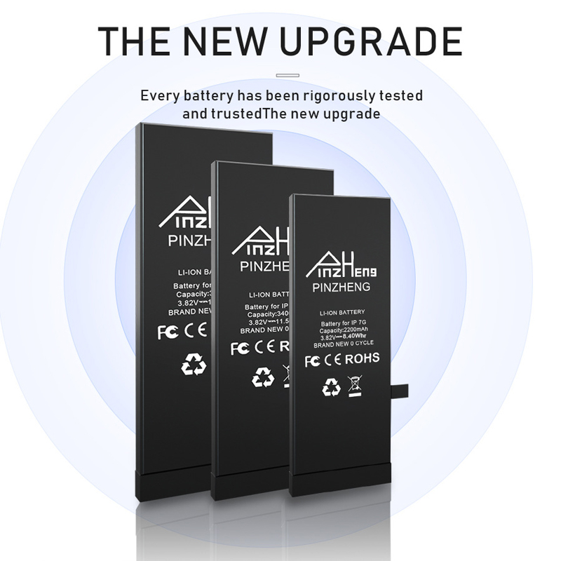0 Cycle Replacement Li Polymer Battery For iPhone X 10 High Capacity Bateria For iPhone X With Free Tools Kit 5