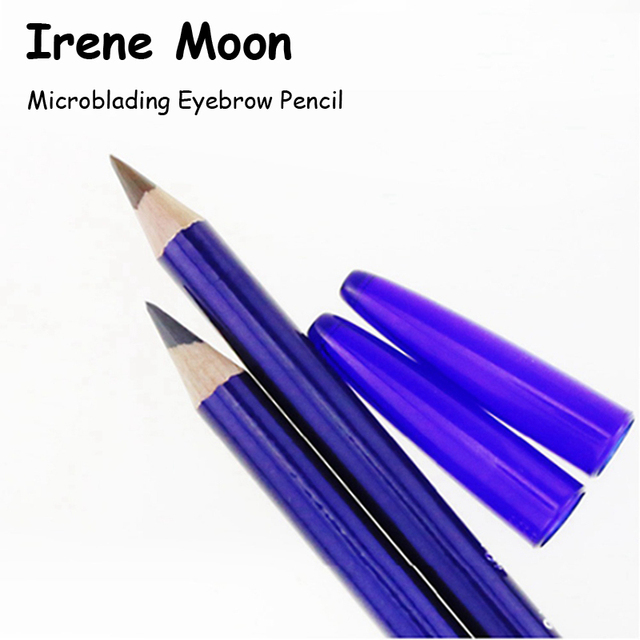Microblading Brow Pencil Permanent Makeup Pencil Eyebrow Tattoo Line Design Positioning Eyebrow Waterproof Pencil Tattoo Tools