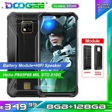"""Doogee S95 Pro 모듈 형 견고한 휴대 전화 IP68/IP69K 스마트 폰 6.3 """"디스플레이 Helio P90 Octa Core 48MP 트리플 카메라 8GB 128GB"""