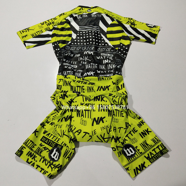 2020 wattie tinta triathlon camisa skinsuit ciclismo dos homens bicicleta esportes conjunto corpo respingo roupas mtb velocidade terno macacão 3