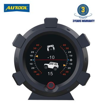 AUTOOL X95 Car 4x4 Inclinometer Provide Slope Angle Speed Satellite Timing GPS Off-road Vehicle Accessories Multifunction Meter