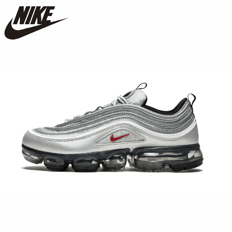 Nike Air VaporMax 97 Original Men Running Shoes Breathable Lightweight Shock Absorbing Outdoor Sneakers #AJ7291