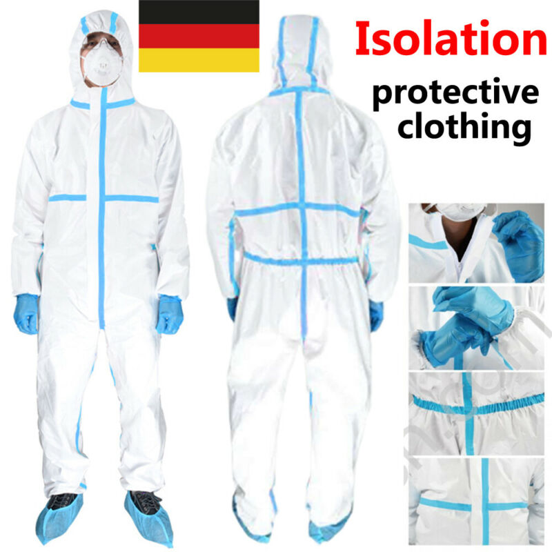 Reusable Waterproof Oil-Resistant Protective Coverall For Spary Painting Decorating Clothes Overall Suit