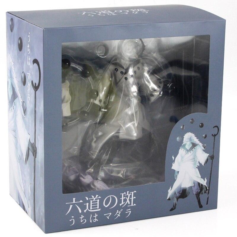 25-27cm Naruto Figure Statue Uchiha Obito Rikudou Sennin Decoration Toys PVC Collection Model Doll Gift 32