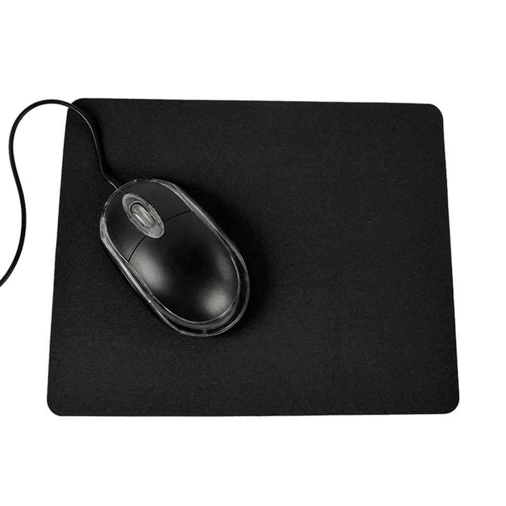Alfombrilla para ratón de juegos de PC alfombrilla de ratón para portátil Anti-Slip Color sólido estera rectangular alfombrilla para Raton коврик для мыши