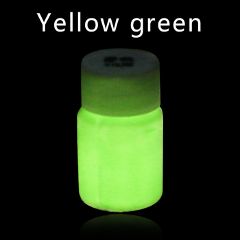 Luminous Paint Glow In The Dark Shining For DIY Home Party Decoration Leaf Green Phosphor Pigment Acrylic 40g Fluorescent Paint