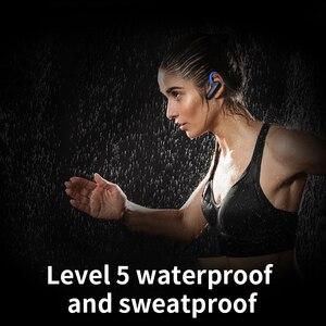 Image 3 - Cyboris Non In Ear auricolare Bluetooth Sport conduzione ossea 16GB lettore Mp3 cuffie 10 ore di riproduzione In esecuzione IPX7 Hifi Bass