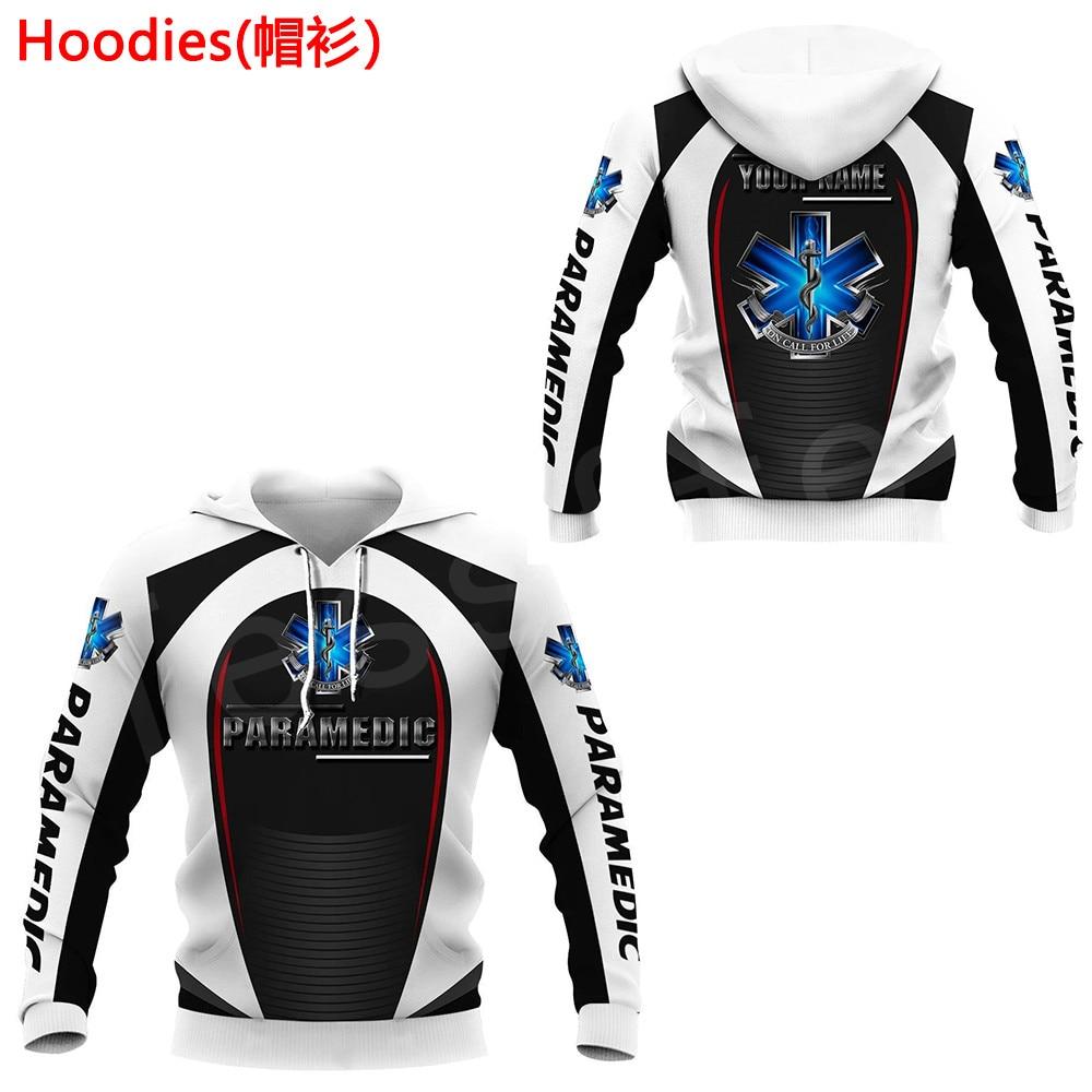 Tessffel Emergency Medical Technician EMT EMS Paramedic NewFashion Unisex Pullover 3DPrint Sweatshirt/Hoodies/zipper/Jacket S-17