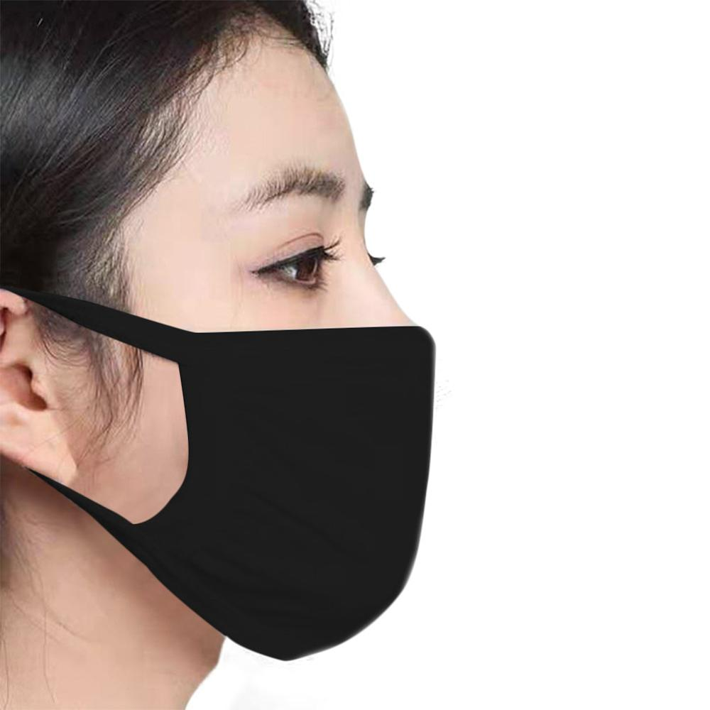 YELITE Cotton Mouth Mask Washable Dustproof Mouth-muffle Breathable Anti Haze Dust Mask Face Reusable Masks  Unisex Mouth Muffle