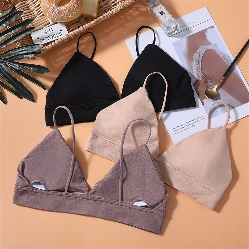 2020 New Women Tube Tops Lingerie Strapless Camisole Backless Bra Bandeau Slim Sexy Solid Tanks Underwear Lady Wrap B0047