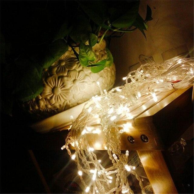 2x 2/3x 1/3x 2/3x3m anschließbar led eiszapfen vorhang fee string led licht weihnachten licht fee garland garten party vorhang decor