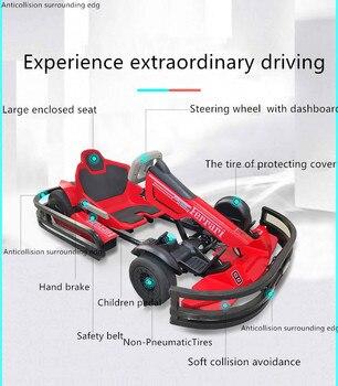 Go kart eléctrico para niños y adultos, carrito multifuncional para negocios, ninebot...