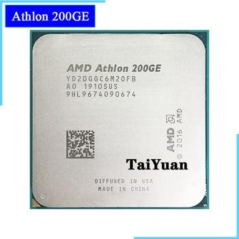 Двухъядерный четырехъядерный процессор AMD Athlon 200GE X2 200GE 3,2 GHz YD20GGC6M2OFB / YD200GC6M2OFB Socket AM4