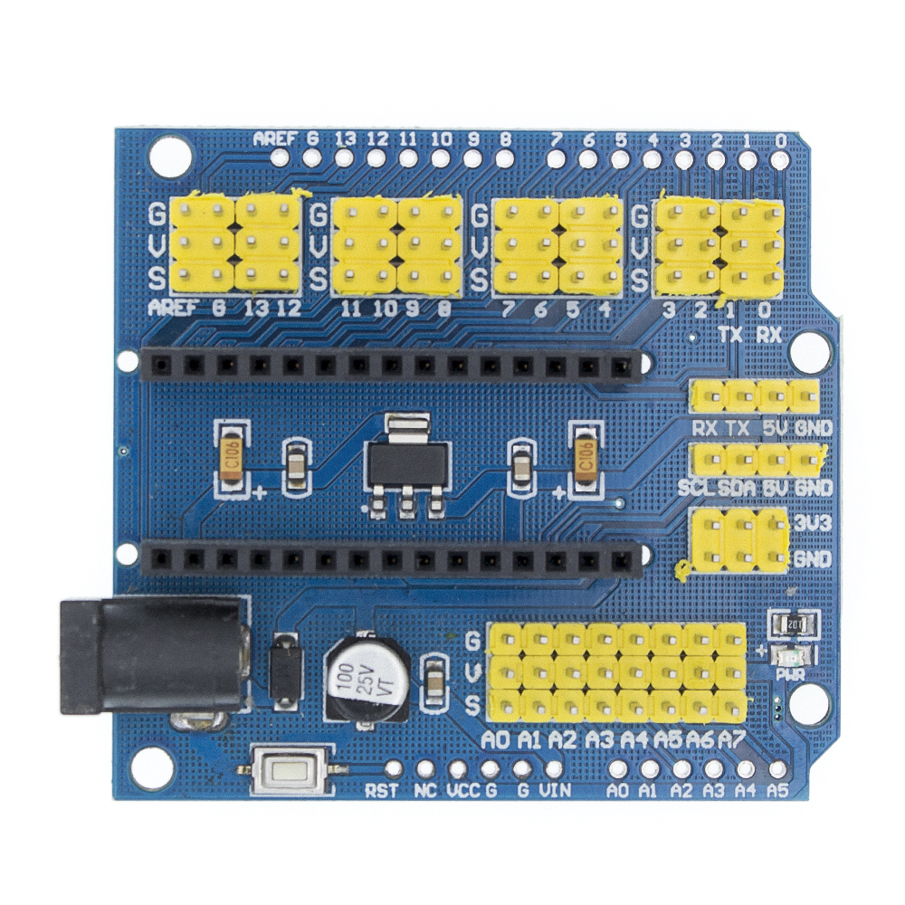 UNO Shield / Nano Shield For NANO 3.0 And UNO R3 Duemilanove Expansion Board