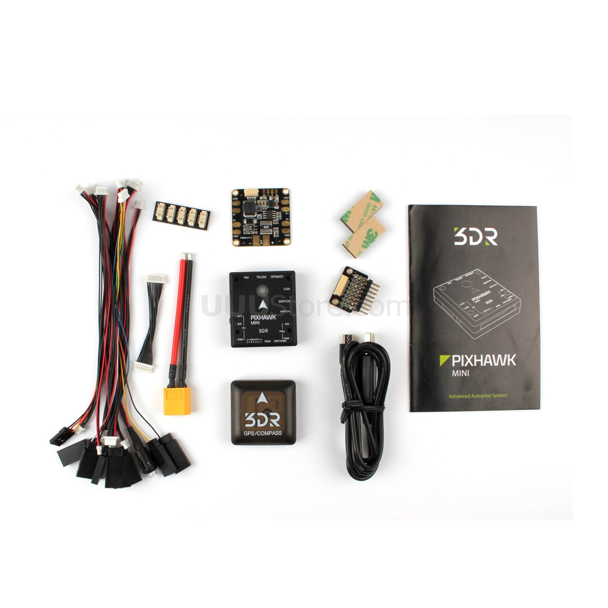 HolyBro 3DR Pixhawk Mini Autopilot & Micro M8N GPS Built-in Com Pass & PDB Board Flight Controller For RC FPV Drone
