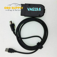 OBD2 vag com cable18.9 and 19.6 for vw for audi for seat for skoda obd scanner update free official website V2 HEX