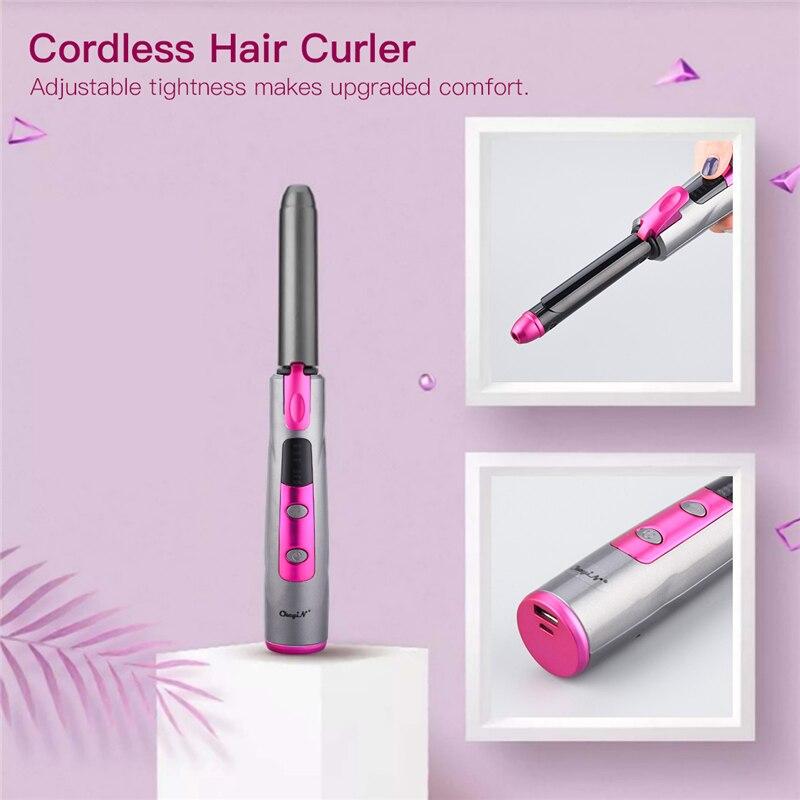 cabelo para viajar display led tool48
