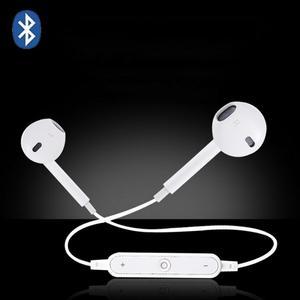 S6 Sport Neckband Wireless Earphone Bluetooth Earphone Headset For IPhone 7 8 X With Microphone Call Volume Control Headphone