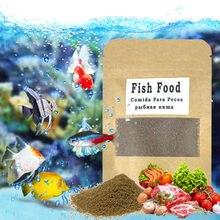 Granular peixes de aquário comida para guppy betta peixes tropicais koi crescer rápido saudável para peixes pequenos cor de alimentação enhacin tanque de peixes