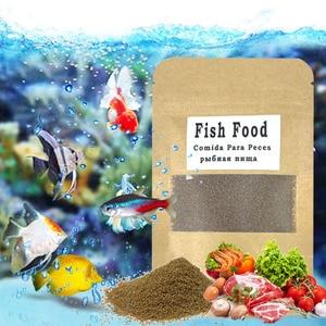 Granular Aquarium Fish Food For Guppy Betta Tropical Goldfish Koi Grow Fast Healthy For Small Fish Feed Color Enhacin Fish Tank