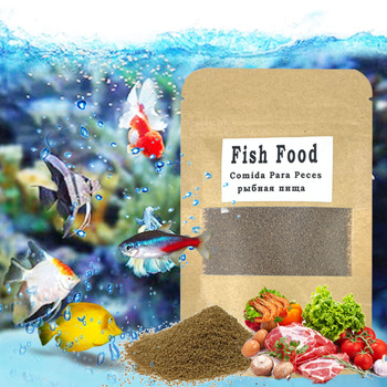 Granular Aquarium Fish Food For Guppy Betta Tropical Goldfish Koi Grow Fast Healthy For Small Fish Feed Color Enhacin Fish Tank image