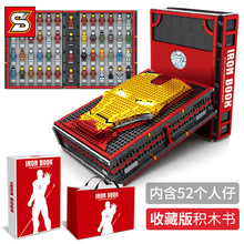 The S card is compatible with the lego iron man souvenir manual s s stewart the absent minded man