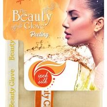 The Beauty Glove 100 Silk Exfloating Bath Mitt Rubbing Glove