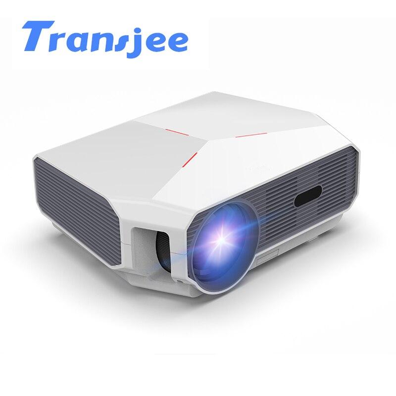 TRANSJEE Full HD проектор для телефона 4K 3800 люмен проектор WIFI Android 6,01 светодиодный домашний кинотеатр 3D видео проектор серии A4300
