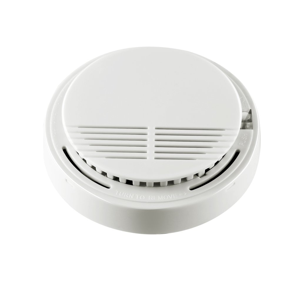2 5 Pcs Smoke Detector Fire Alarm Detector Independent Smoke Alarm Sensor For Home Office Security Photoelectric Smoke Alarm New