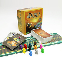 2019 Dixit 1 2 3 board game English&Russian rules 252 cards for home party family fun kids card game