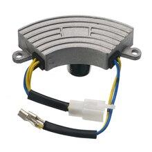 3500 ватт генератор AVR Регулировка автоматического Напряжение Регулятор выпрямителя тока AVR 250V 220 мкФ 6 проводов Популярные Алюминий Базовое покрытие