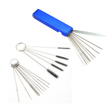 Needles Carburetor Moped Scooter Cleaning-Tool Motorcycle for ATV Jets Wire-Cleaner-Kits