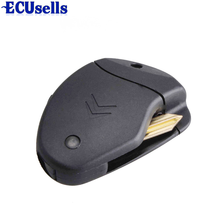 2 кнопки дистанционного Флип ключ оболочки чехол складной брелок для Citroen Evasion Xantia Xsara Synergie отправки