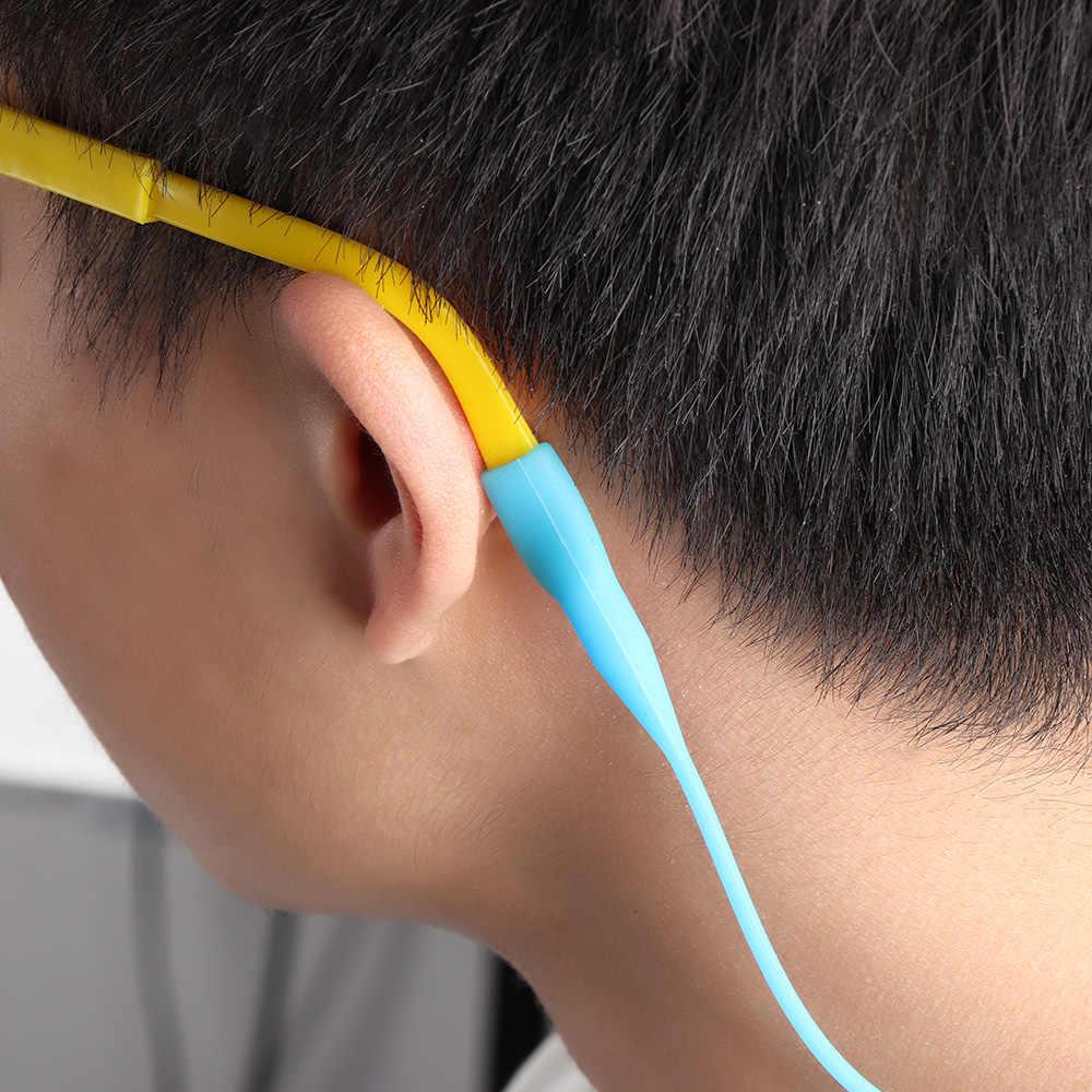 1 Pc Candy Kleur Elastische Siliconen Brillen Bandjes Zonnebril Keten Sport Anti-Slip String Bril Touwen Band Cord Holder