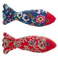 Pet Fish Shape Cats Catnip Toys Fancy Simulation Fish Pillow Pet Interactive Training Toys Cat Supplies