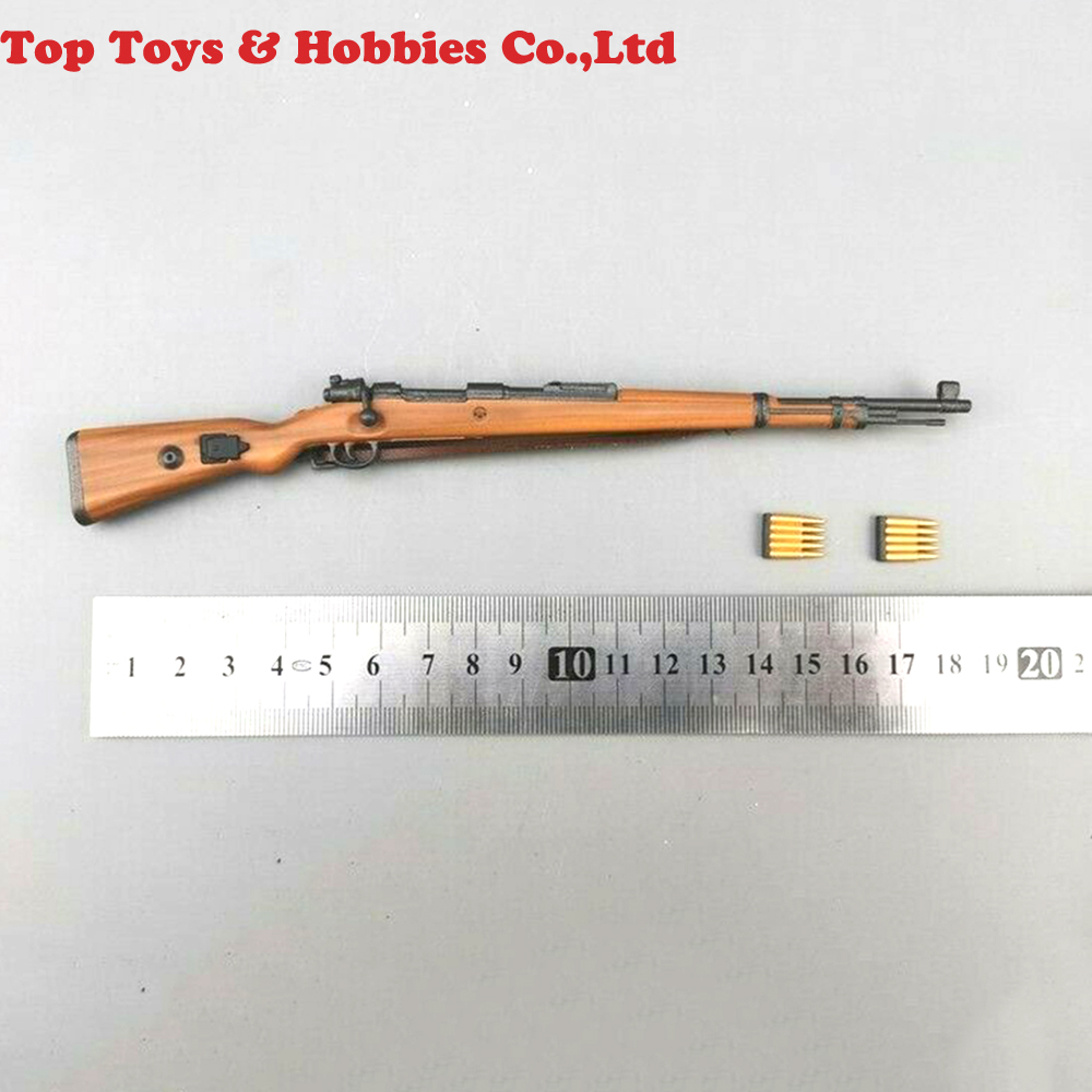 1/6 Scale1/6 Scale 98K Plastic Wood Rifle Gun Model Weapon Toys Fit For 12