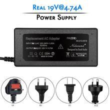 Douk áudio 19 v 4.74a fonte de alimentação ac/dc adaptador carregador para amplificador portátil dac entrada 100 240 v 50/60 hz