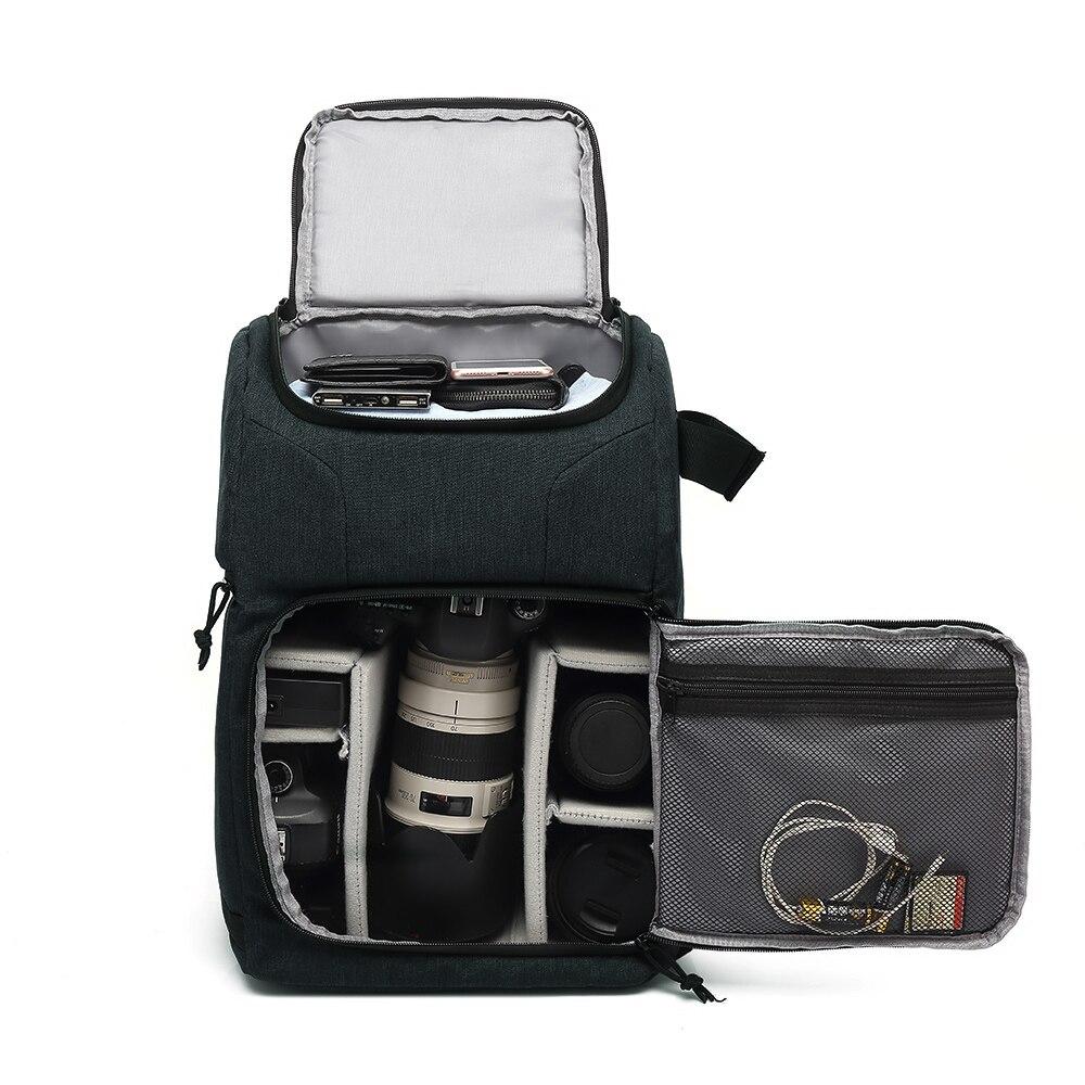 Водонепроницаемая сумка для камеры, рюкзак для фотосъемки, для Polaroid Canon Nikon Sony DSLR Shoot Camera s, портативный дорожный Чехол, сумки Сумки для фото-/видеокамеры      АлиЭкспресс