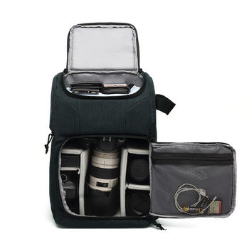 Wodoodporna kamera torba fotografia fotografia plecak dla Polaroid Canon Nikon Sony DSLR Shoot aparaty przenośne etui podróżne torby tanie i dobre opinie Andoer DSLR Camera System Kamery lustra Punkt i Strzelać Kamery Natychmiastowa Kamery Obiektyw Uniwersalny Plecaki Torby aparatu